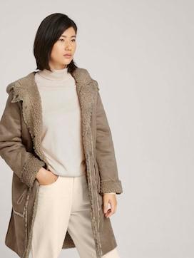 Reversible faux fur jacket - 5 - TOM TAILOR
