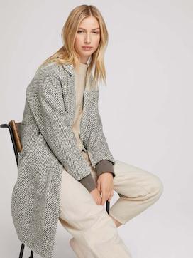 Herringbone coat - 5 - TOM TAILOR Denim