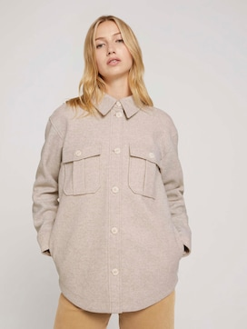 Hemdjacke mit seitlichen Eingrifftaschen - 5 - TOM TAILOR Denim