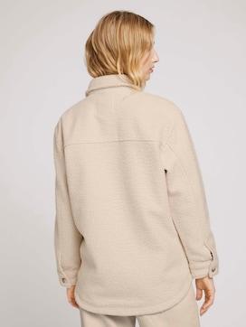 Hemdjacke mit seitlichen Eingrifftaschen - 2 - TOM TAILOR Denim