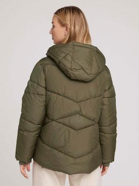 Gesteppte Jacke mit großen Reißverschlusstaschen - 2 - TOM TAILOR Denim