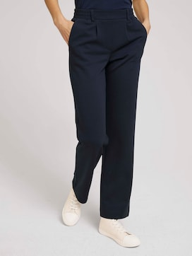 Basic loose-fit trousers - 1 - TOM TAILOR