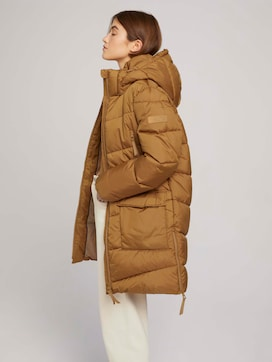 Quilted coat made of recycled polyester - 5 - TOM TAILOR Denim