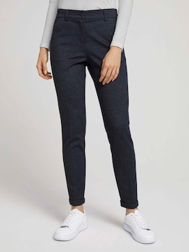Loose-fit trousers with a crease - 1 - TOM TAILOR