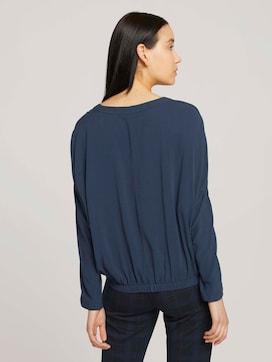 Basic Bluse mit Lyocell - 2 - TOM TAILOR