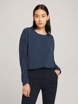 Basic Bluse mit Lyocell - 5 - TOM TAILOR
