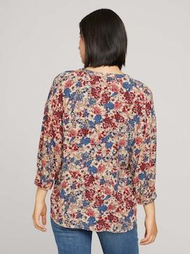 Bluse mit Blumenmuster - 2 - TOM TAILOR