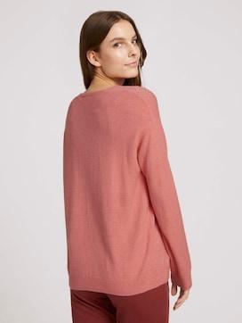 V-neck sweater - 2 - TOM TAILOR