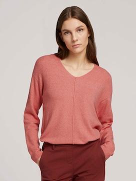 V-neck sweater - 5 - TOM TAILOR