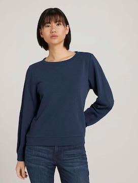 Basic Sweatshirt mit Bio-Baumwolle - 5 - TOM TAILOR