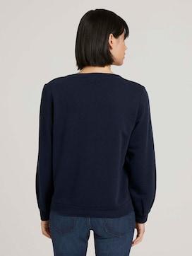 Basic Sweatshirt mit Bio-Baumwolle - 2 - TOM TAILOR