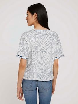 T-shirt met patroon van biologisch katoen - 2 - TOM TAILOR