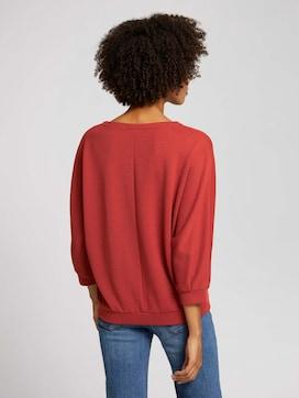 Loose Fit-shirt met structuur - 2 - TOM TAILOR