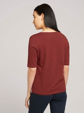 Halbarm Print Shirt mit Bio-Baumwolle - 2 - TOM TAILOR