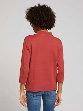 Ripp Shirt mit Bio-Baumwolle - 2 - TOM TAILOR