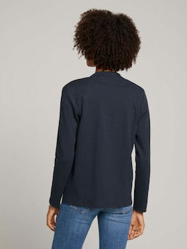 Ripp Shirt Cardigan mit Bio-Baumwolle - 2 - TOM TAILOR