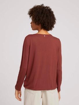7/8 Shirt mit LENZING(TM) ECOVERO™ - 2 - TOM TAILOR