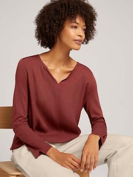 7/8 Shirt mit LENZING(TM) ECOVERO™ - 5 - TOM TAILOR