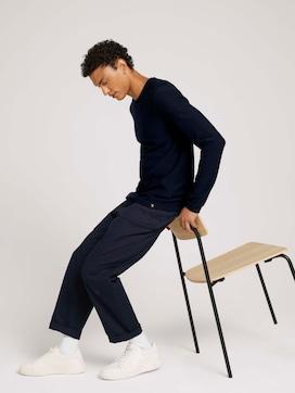 basic shirt met lange mouwen van biologisch katoen - 5 - TOM TAILOR Denim