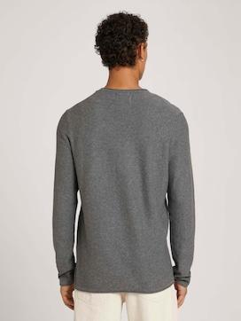 basic shirt met lange mouwen van biologisch katoen - 2 - TOM TAILOR Denim