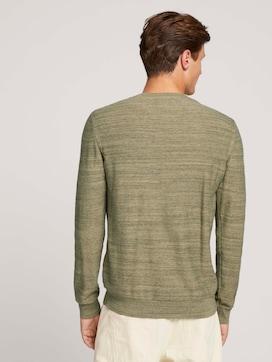 Pullover in Melange-Optik - 2 - TOM TAILOR Denim