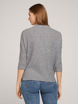 Pullover mit Rippstruktur - 2 - TOM TAILOR Denim