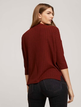 Pullover with a ribbed texture - 2 - TOM TAILOR Denim