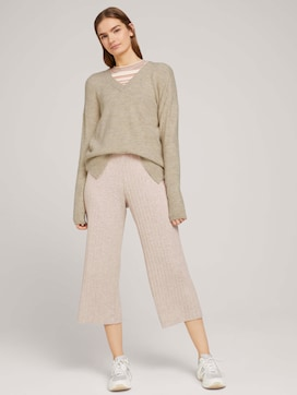 Relaxed culotte trousers - 3 - TOM TAILOR Denim