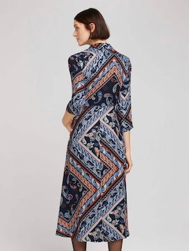Midikleid mit Paisley-Print - 2 - TOM TAILOR Denim