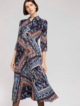 Midikleid mit Paisley-Print - 5 - TOM TAILOR Denim