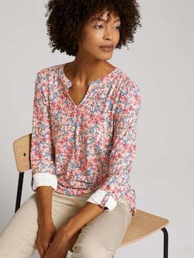 Shirt mit Blumenmuster - 5 - TOM TAILOR