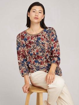 Patterned 3/4-sleeved shirt - 5 - TOM TAILOR