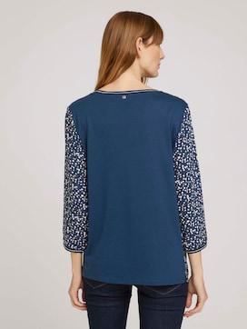 Patterned 3/4-sleeved shirt - 2 - TOM TAILOR