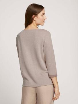 Mottled sweatshirt - 2 - TOM TAILOR