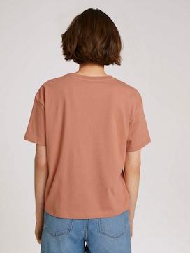 shirt met borduursel - 2 - TOM TAILOR Denim