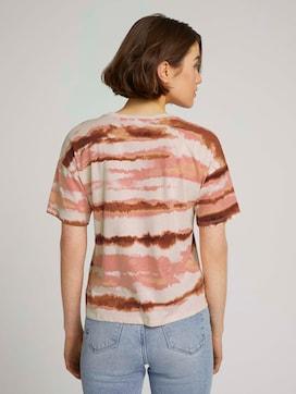 uitgesneden T-shirt met patroon - 2 - TOM TAILOR Denim