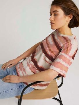 uitgesneden T-shirt met patroon - 5 - TOM TAILOR Denim