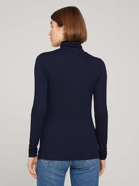 Long-sleeved shirt made of lenzing EcoVero [logo] - 2 - TOM TAILOR Denim