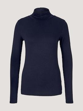 Shirt met lange mouwen van lenzing EcoVero [logo] - 7 - TOM TAILOR Denim