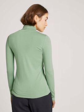 Long-sleeved shirt with a turtleneck - 2 - TOM TAILOR Denim