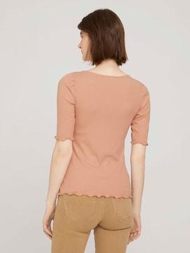 shirt met pofmouwen - 2 - TOM TAILOR Denim