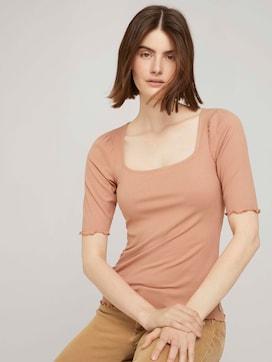 shirt met pofmouwen - 5 - TOM TAILOR Denim