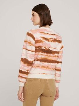 Cropped sweatshirt met gestreept patroon - 2 - TOM TAILOR Denim