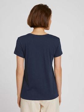 T-shirt van biologisch katoen met print - 2 - TOM TAILOR Denim