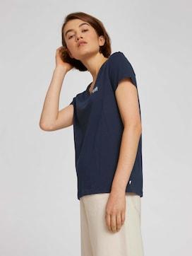 T-shirt van biologisch katoen met print - 5 - TOM TAILOR Denim