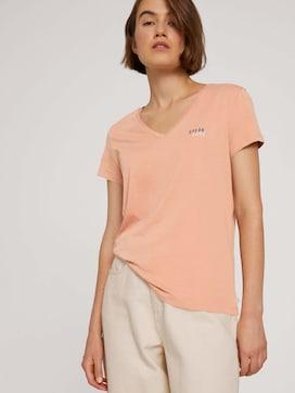 Organic cotton print T-shirt - 5 - TOM TAILOR Denim