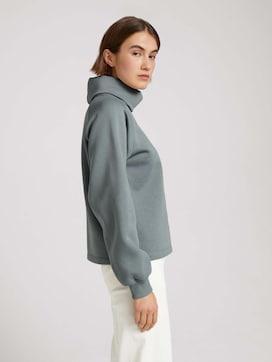 Sweatshirt mit Rollkragen - 5 - TOM TAILOR Denim