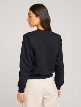 sweatshirt met schouderplooi - 2 - TOM TAILOR Denim