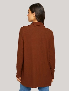 cardigan with a shawl collar - 2 - TOM TAILOR Denim