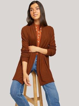 cardigan with a shawl collar - 5 - TOM TAILOR Denim